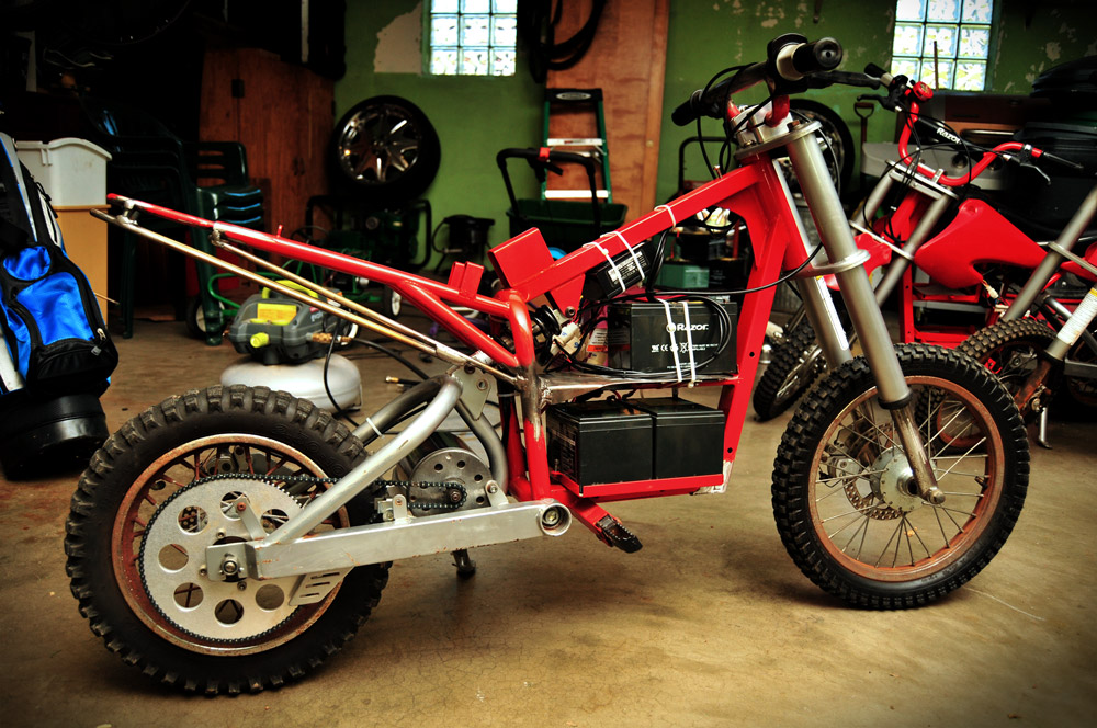 Razor Mx500 Electric Dirtbike Triton 9